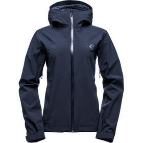 Black Diamond Stormline Stretch Rain Shell Jacket Women captain